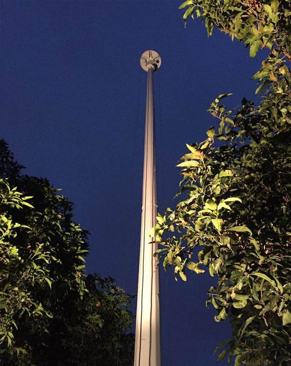 广州轻工业学校高杆灯项目