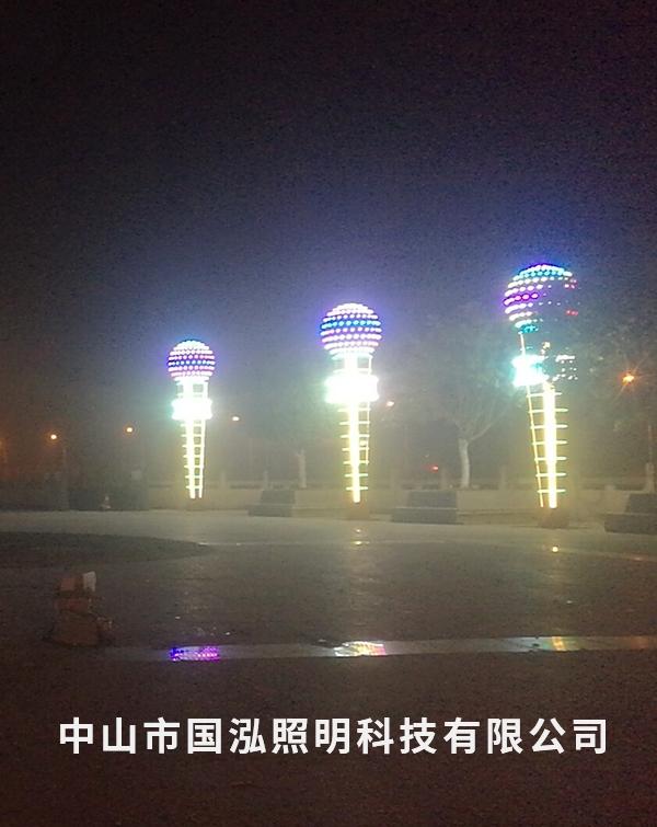 四川达州开县景观照明