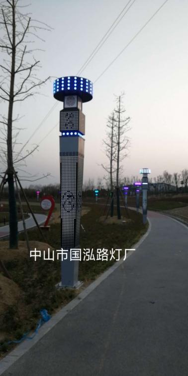 2019年南阳唐河县公园景观项目
